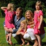 Koninklijke familie op bezoek